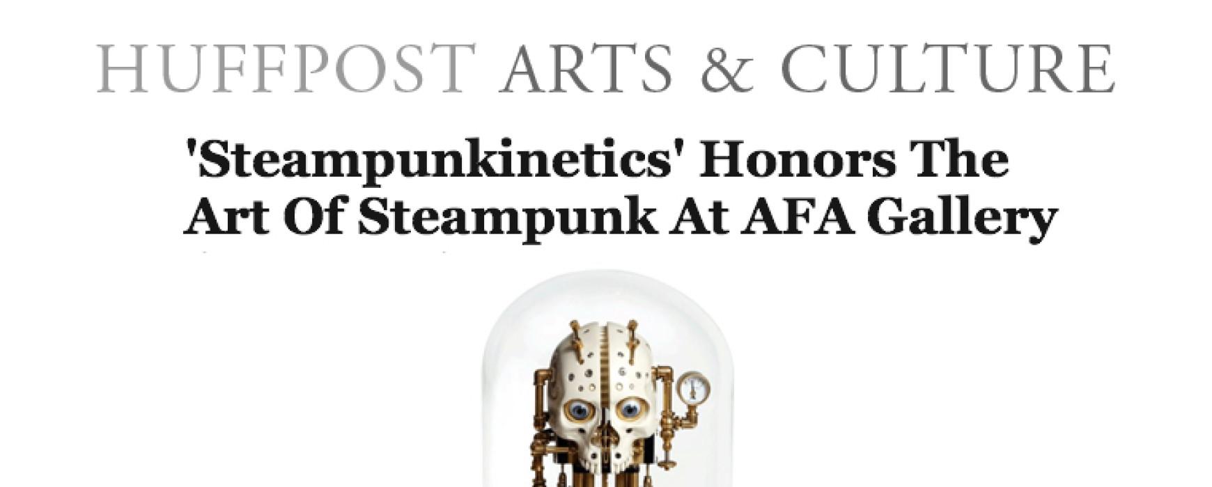 HuffPost: 'Steampunkinetics'
