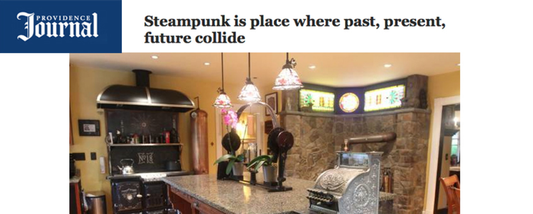 Providence Journal: Steampunk is place where past, present, future collide