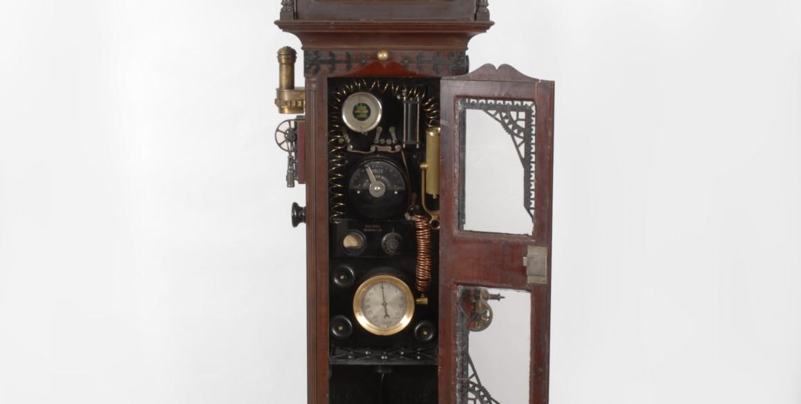 Wedding Time Capsule Grandfather Clock