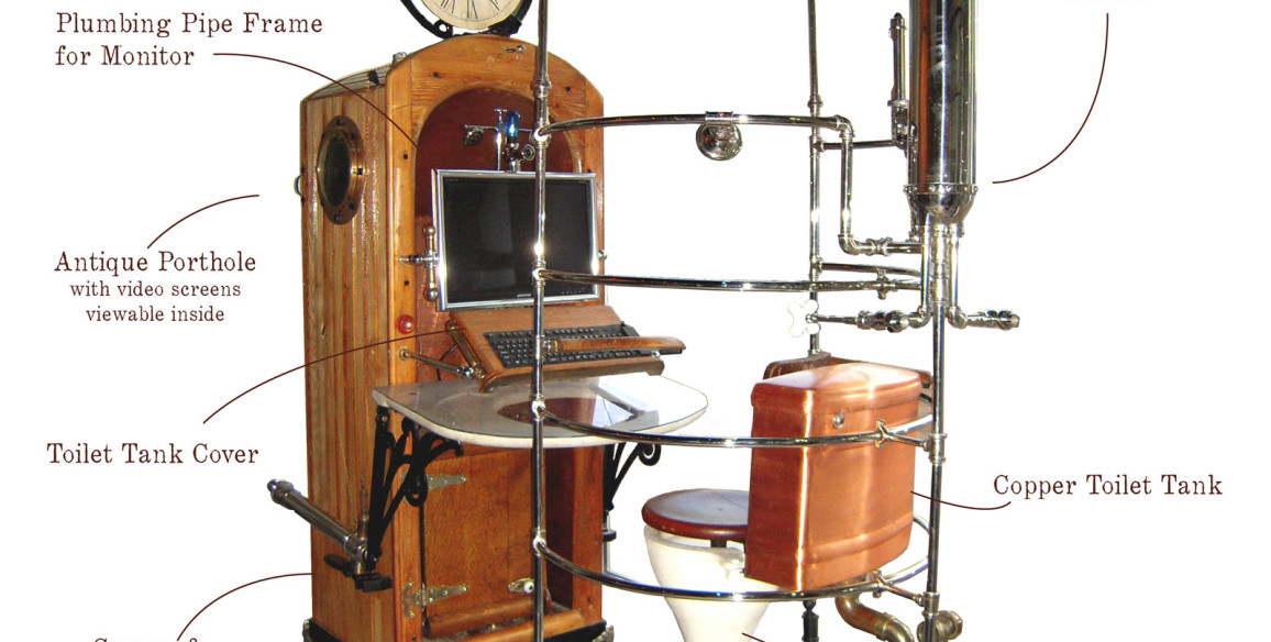 Rib Case Shower Time Machine Workstation