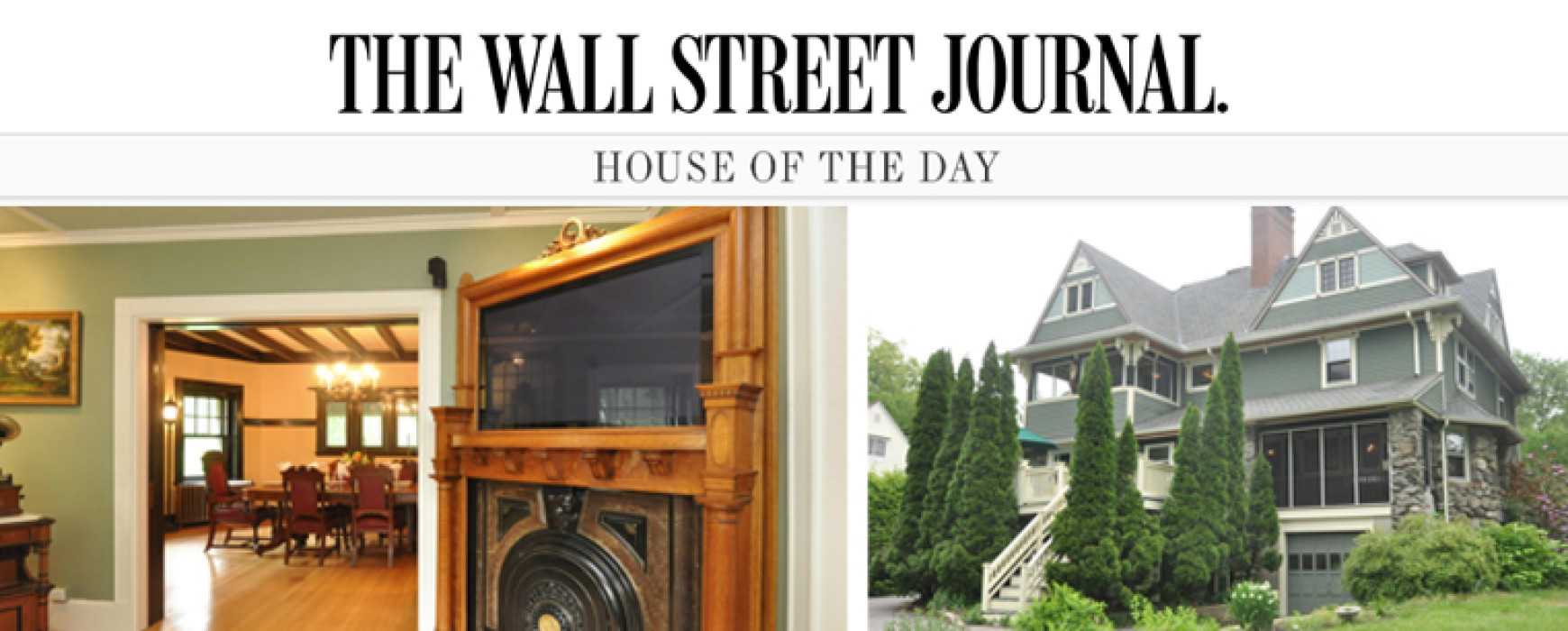 THE WALL STREET JOURNAL. : A Victorian House with Steampunk Style