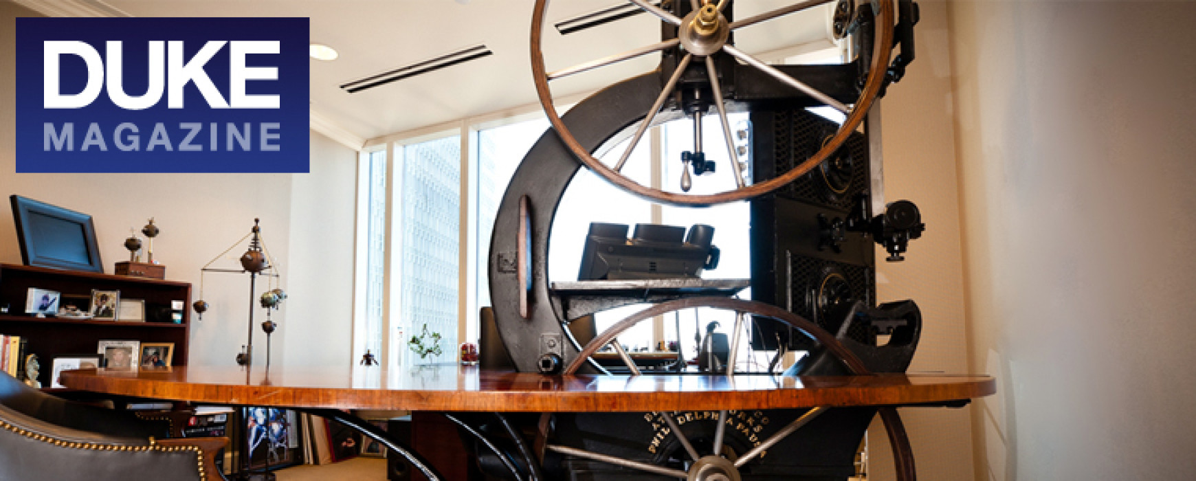 Duke Magazine : Alumnus Specializes in Steampunk