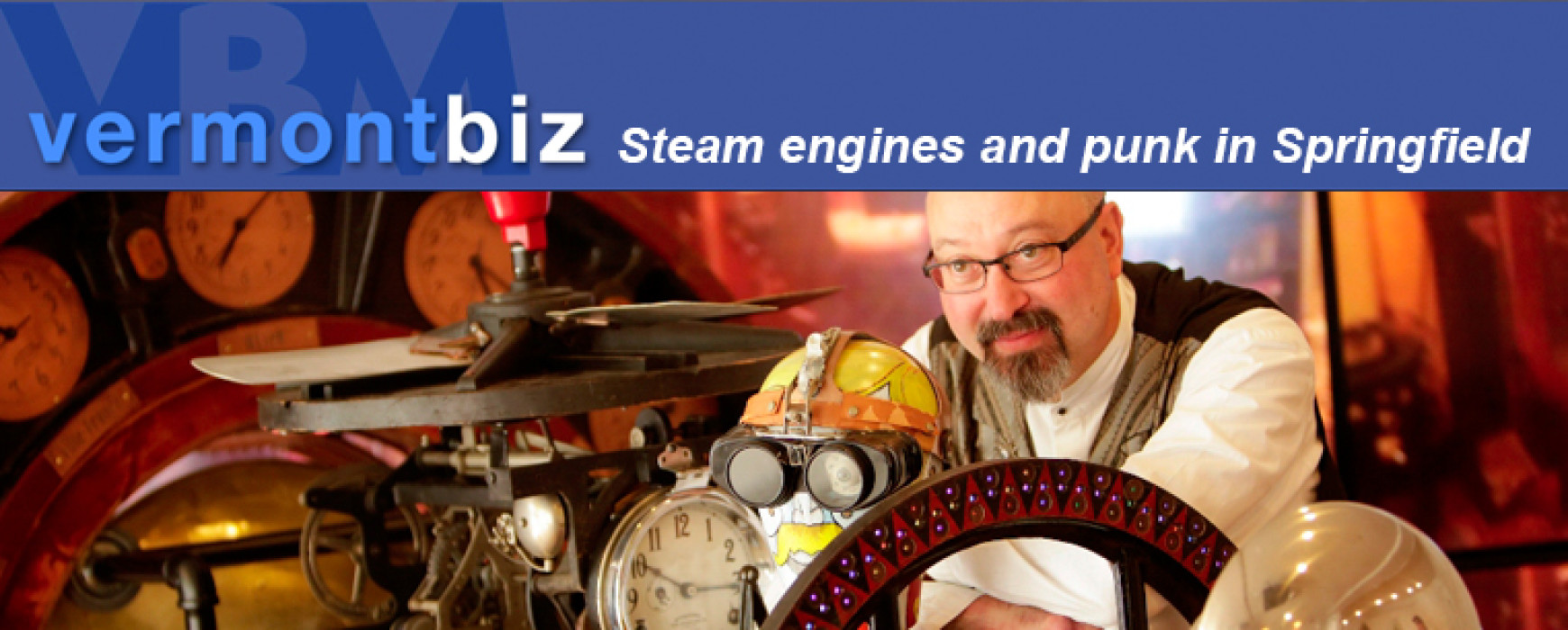 vermontbiz: Steam engines and punk in Springfield